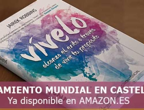 """¡Hoy, 20 de septiembre es el día del lanzamiento del libro """"VÍVELO"""" en Amazon"""